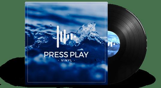 Disco de vinilo 12 pulgadas Press Play Vinyl
