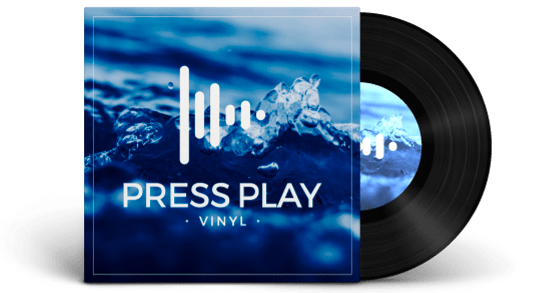 Disco de vinilo 7 pulgadas Press Play Vinyl