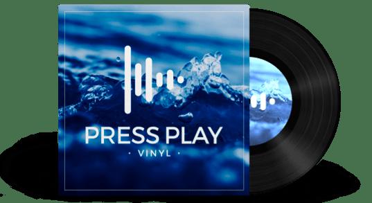 Disco de vinilo 7 pulgadas Press Play Vinyl