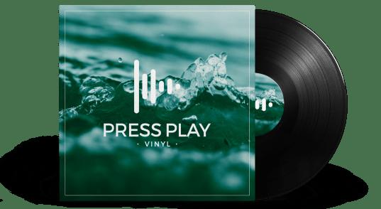 Disco de vinilo a medida 12 pulgadas Press Play Vinyl