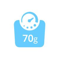 Disco de vinilo 70 gramos
