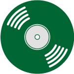 Icono disco a medida 12 pulgadas