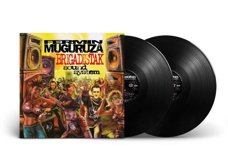 FERMÍN MUGURUZA – Brigadistak Sound System 2LP
